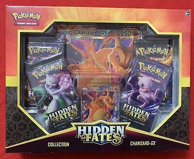 Pokemon TCG Hidden Fates Charizard-GX Collection Box