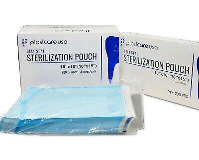 30 10 X 16 Large Self-sealing Sterilization Pouch Sterilizer Bag Autoclave