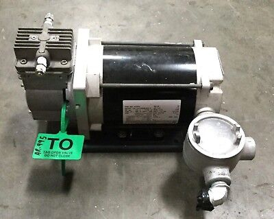 Dia-vac Vacuum Pump R181-ff-ra1 W Marathon Electric Motor  Explosion Proof