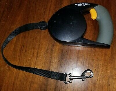 Aspen Pet Walkabout Retractable Leash 2-16 feet Small-Medium Dogs w lock trigger Aspen Dog Leash
