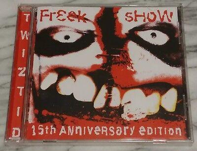NEW TWIZTID FREEK SHOW 15TH ANNIVERSARY EDITION CD INSANE CLOWN POSSE ICP MNE