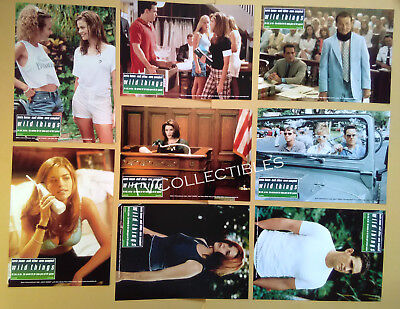 Lobby Card Set~ WILD THINGS ~1998 ~Matt Dillon ~Neve Campbell ~Denise Richards