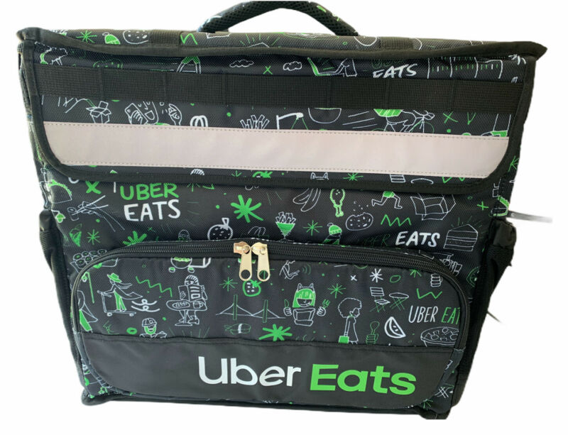 UBER EATS Limited Edition (Sophia) Insulated Bag Postmates DoorDash Grubhub NEW