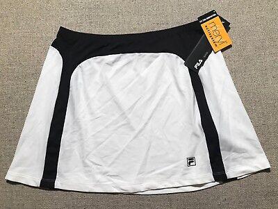 $50 Fila Tennis Skirt MERYL Actisystem Tennis Gear Elite Size L NEW #J6