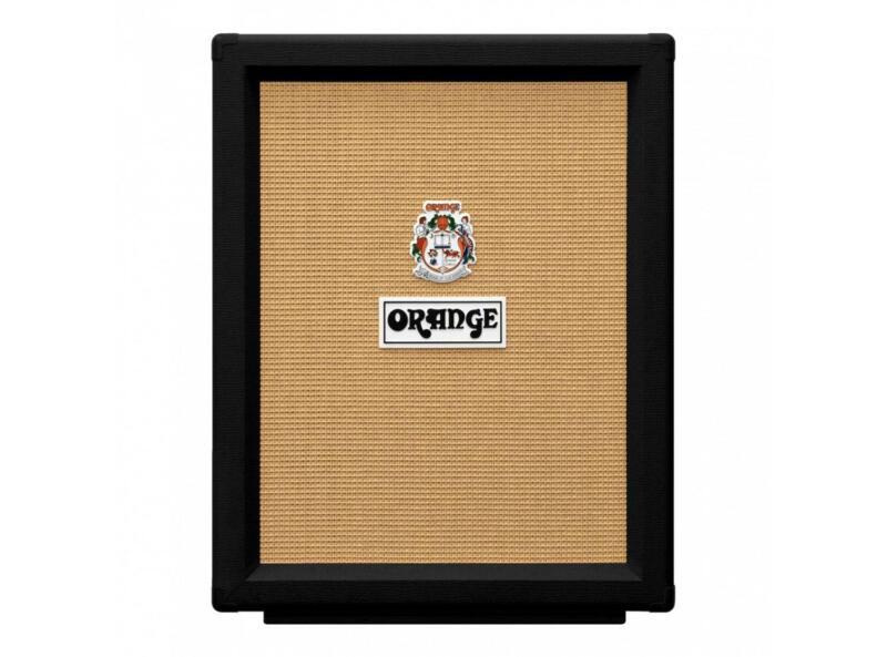 "Orange Amplification PPC212 V 2x12"" Vertical Guitar Speaker Cabinet (Black)"