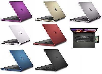 Dell 17 3  Laptop Computer 12Gb 1Tb Windows 10 Backlit Keyboard Bluetooth Dvd