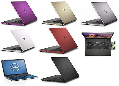 Dell Inspiron 17 5755 17 3  A8 7410 2 2Ghz 12Gb 1Tb Dvdrw W10 Laptop Notebook Pc