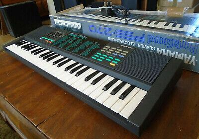 Yamaha PSS-270 Electronic Keyboard PortaSound Vintage 80s  made in Japan