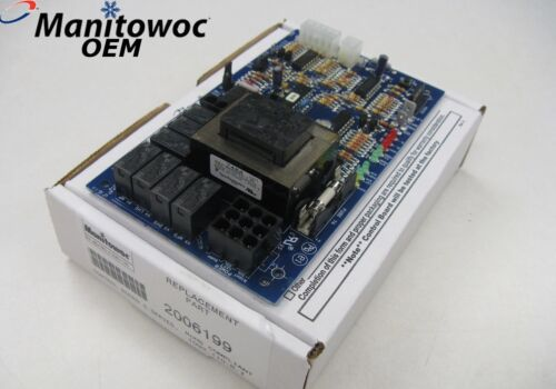 20-0619-9 Manitowoc Ice Machine 2006199 New Control Board S-series - Ships Fast!