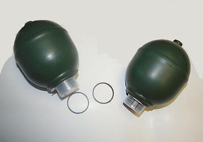 1980-2002 Mineral oil Rolls & Bentley rear & front suspension accumulator sets