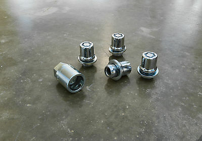 Genuine Scion Wheel Locks For Scion Tc, Xb, Xd, Xa, And Iq-new,