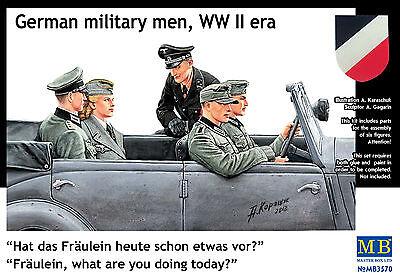 MASTER BOX™ 3570 WWII German Passengers Figuren in 1:35