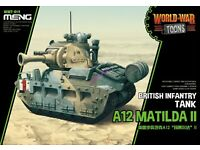Zvezda 1//100 Matilda MkI British Infantry Tank Z6191