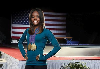 Gabby Douglas Poster Olympics A  Multiple Sizes