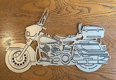 Plasma Cut Motorcycle Man Cave/Garage Bar Art Wall Decor Sign Metal Harley
