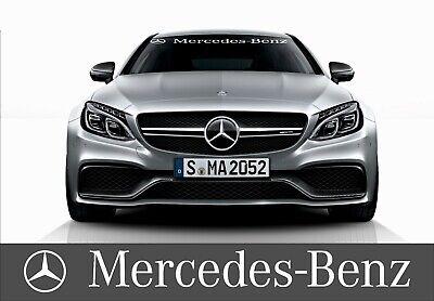Mercedes Benz Windschutzscheiben frontscheiben Aufkleber Sticker A B C E ML AMG