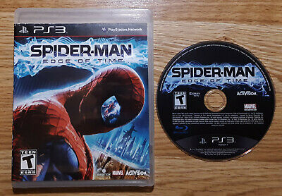 Spider-Man Edge Of Time - PlayStation 3 PS3 - No Manual