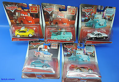 Mattel Disney Cars / The Best of Cars Toons / 5er Set