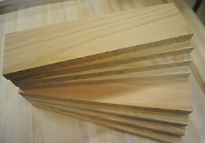 30 Red Oak thin boards lumber wood crafts