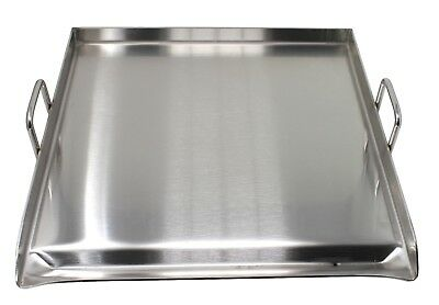 Concord 20 X 20 Stainless Steel Portable Add On Flat Top Griddle Outdoor Stove