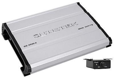 Autotek SS3500.2 Super Sport 3500w 2-Channel Car Audio Amplifier Class A/B Amp