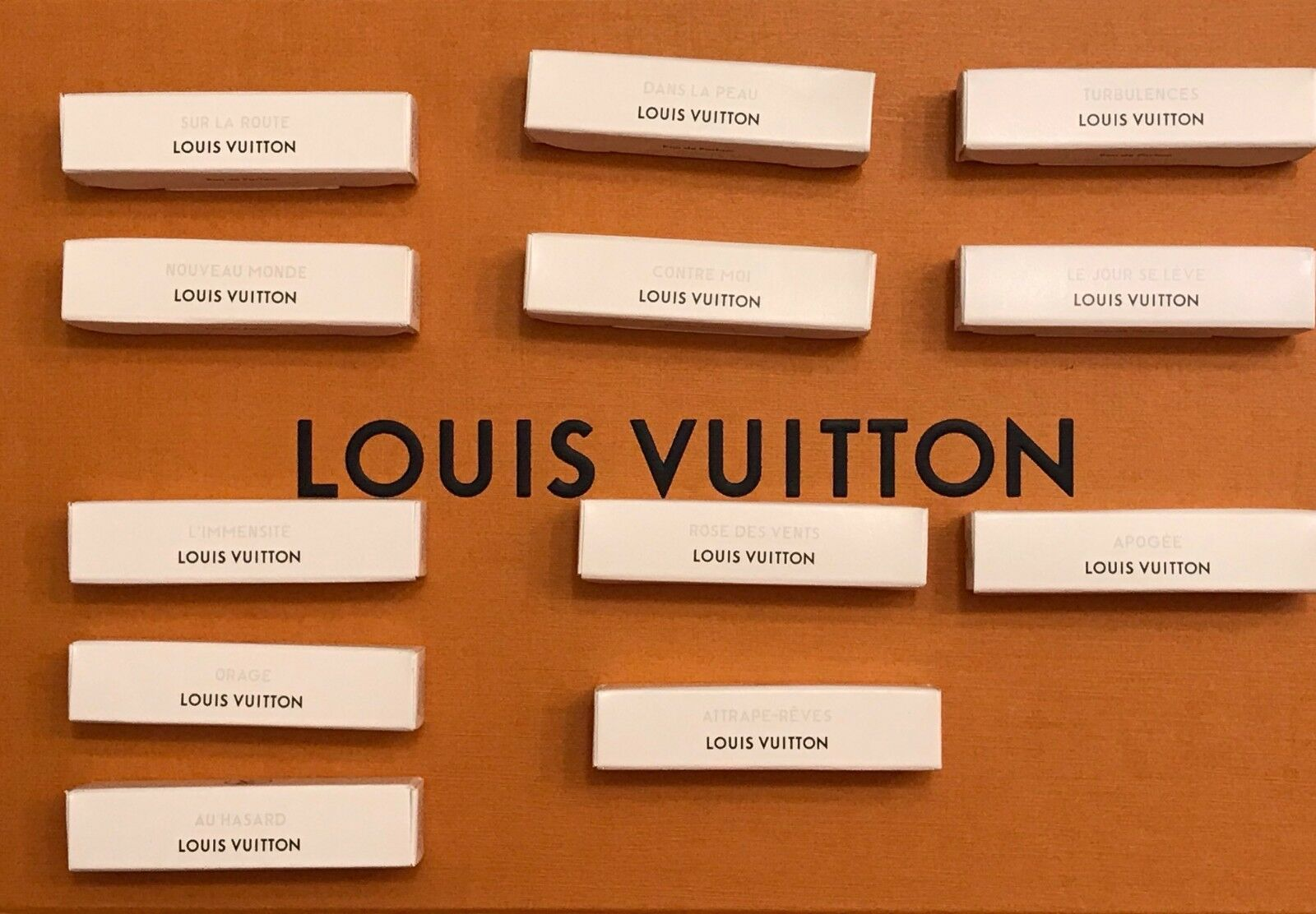 Louis Vuitton 2ml EDP Parfum Travel spray samples NICHE FRAGRANCE 100 Authentic
