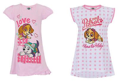 �dchen Nachthemd kurzarm Gr.92-128 Schlafanzug  Pyjama neu! (Paw Patrol Mädchen)
