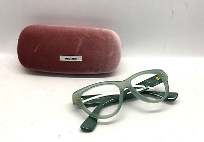 Miu Miu by Prada VMU 1ON-A TV2-1O1 Women Eyewear Optical Frame DEMO Lenses (Miumiu Eyewear)