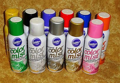 Color Mist,Food Color Spray,Wilton,Air Brushed Effects,1.5 oz.Edible,Spray Color (Color Mist Food)