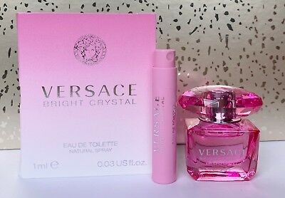 Versace Bright Crystal Absolu Eau de Toilette Mini & Bright Crystal Card Sample