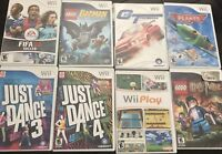 Lightly Used Wii Games