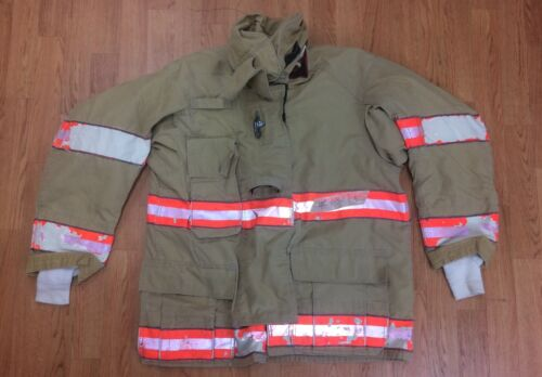Cairns RS1 Firefighter Turnout/Bunker Coat 44 Chest x 32 Length