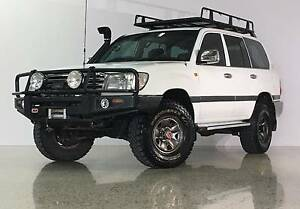 2004 Toyota LandCruiser GXL Wagon 4.7L Automatic Ashmore Gold Coast City Preview