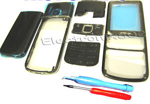 For-Nokia-6700-Classic-Fascia-Housing-Battery-Cover-Screen-Lens-Keypad-Black-TL