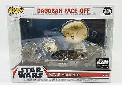 Funko Pop Star Wars Exclusive Smuggler's Bounty Dagobah Face Off Movie Moments