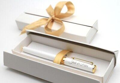 Metall Kugelschreiber Kuli Stift mit Ihrer Gravur Personalisiert + Geschenkbox ()