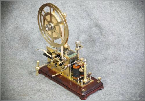 ~ 1898 Ericsson Telegraph / Morse Telegraph restored to original Mint Condition