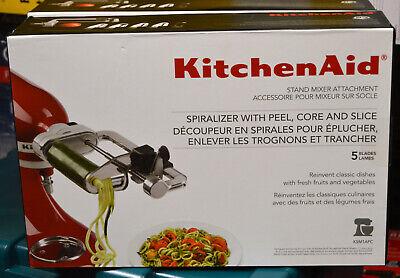 KitchenAid Spiralizer Attachment KSM1APC for Stand Mixer 5 Blades