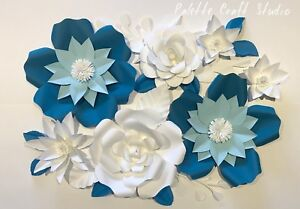 Paper flower backdrop/ Home decoration/ Paper flowers
