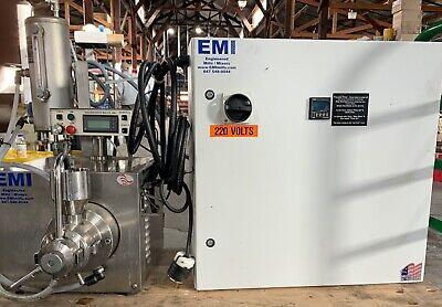 Emi Beadmini Mill Model M100 Vse Exp I.s. Serial 10632 3hp 1ph 5000rpm 2013