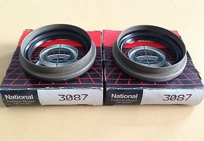 National/Federal Mogul, 3087 Front Wheel Bearing Seal Pair. NOS. Made in USA.