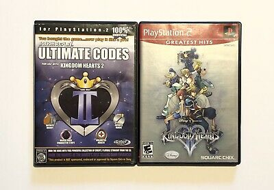 Kingdom Hearts II with Action Replay Ultimate Codes for Sony Playstation 2 (Kingdom Hearts 2 Codes For Action Replay)