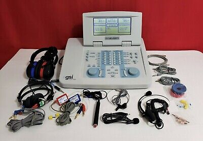 Grason Stadler Gsi 61 Diagnostic Clinical Audiometer Two Channel.