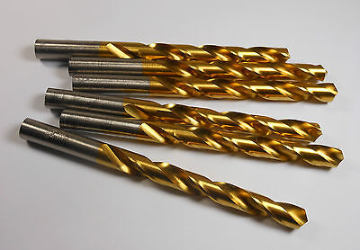 "5//32/"" Diameter 3/""LOC Cobalt TiCN Coated Parabolic Long Drills 130°Point YG-1"