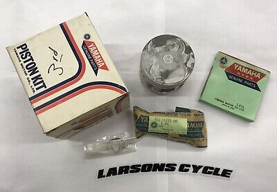Yamaha XS500 TX500 1973 - 1987 3rd Over 371-11630-30-00 .75 Over Genuine