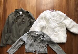 Girls jackets and cardigan size 5 Kilburn Port Adelaide Area Preview