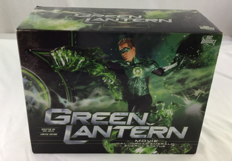DC Direct GREEN LANTERN Movie Hal Jordan Emerald Energy Statue LE #373 of 2,500