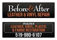 Leather and vinyl repair