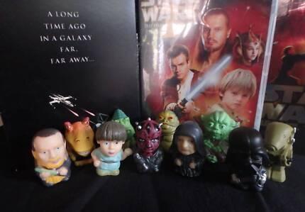 Star Wars Phantom Menace Figurines - Set of 10 - NEW