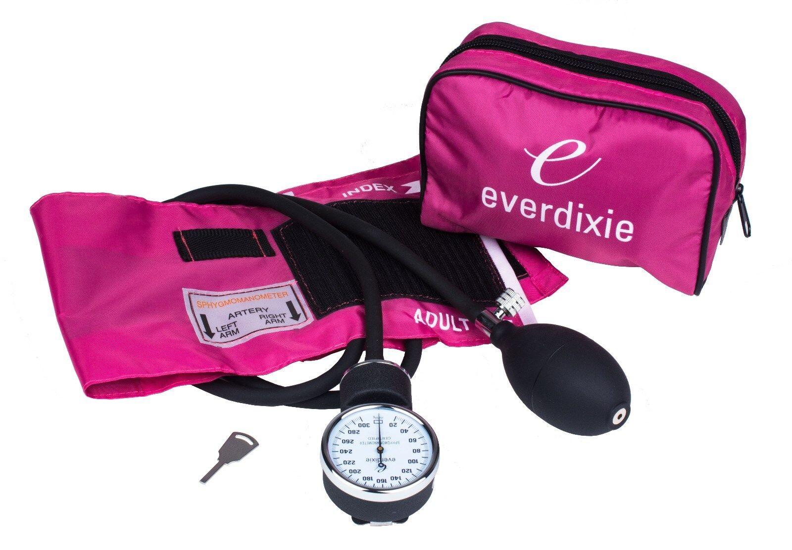 new pink adult bp cuff blood pressure